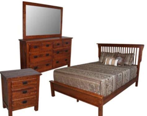 daniel s amish lewiston 4 mission bedroom set
