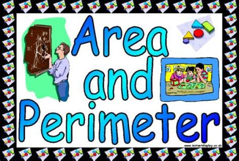 printable area and perimeter posters free maths teaching resources shape space and measures