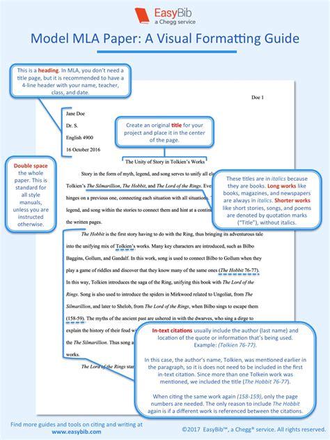 format  paper  mla   visual guide easybib blog