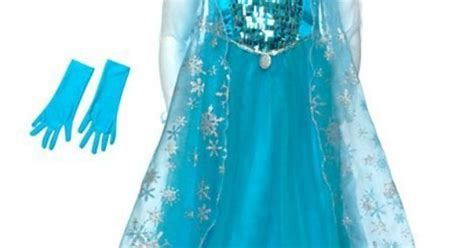 Disney Store Usa Authentic Frozen Costume Kostum authentic disney store elsa from frozen costume dress up for age size 3 4 years toys