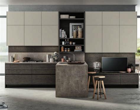 cucine con soggiorno cucina moderna gola con soggiorno integrato in offerta