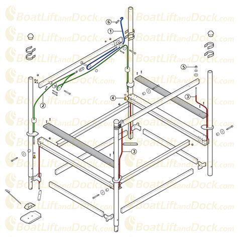 boat lift diagram hewitt boat lift wiring diagram somurich