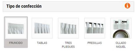 medidas cortinas cortinas a medida en cortina ideal