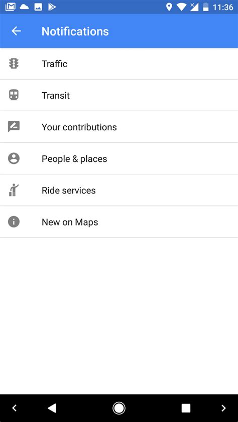 android authority maps beta adds notification channels for android o android authority