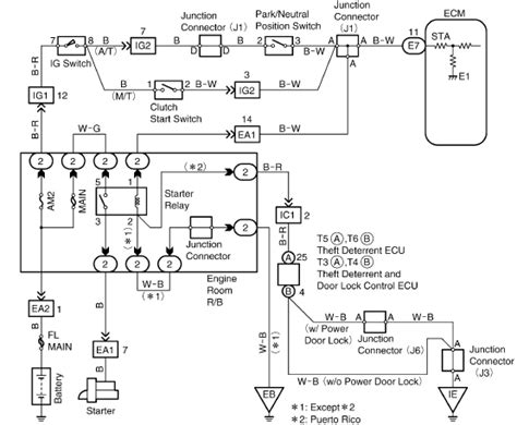 toyota ignition igniter wiring diagram get free image