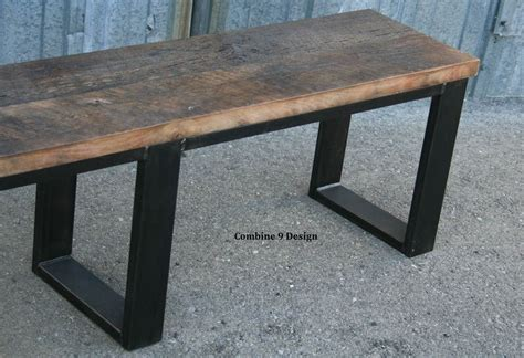 custom made bench seats buy a hand crafted vintage industrial mid century modern bench seat made to order