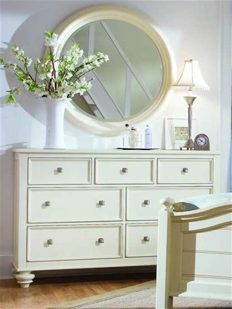 mirror over dresser ideas white round mirror over dresser nursery for the home