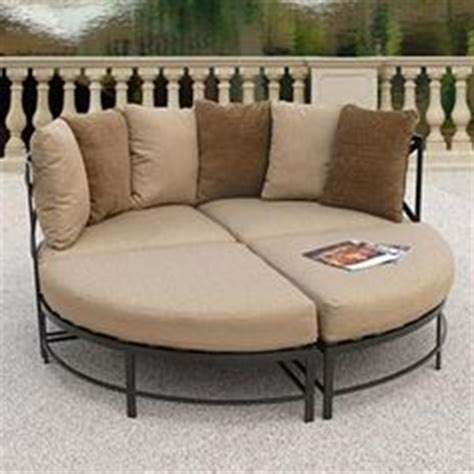 round outdoor chaise lounge cushions 1000 images about round chaise lounge on pinterest