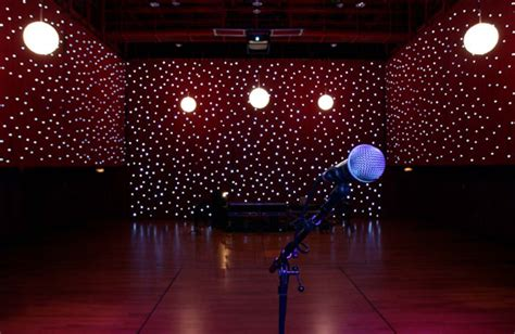 led star curtain high quality rgb tri color wedding backdrop led star