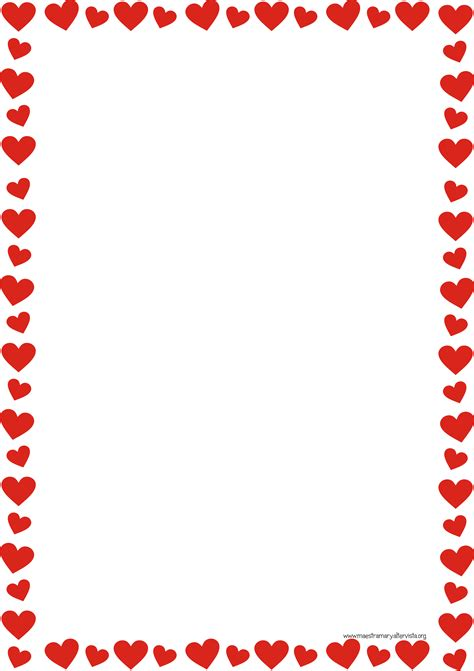 cornici per lettere san valentino maestra