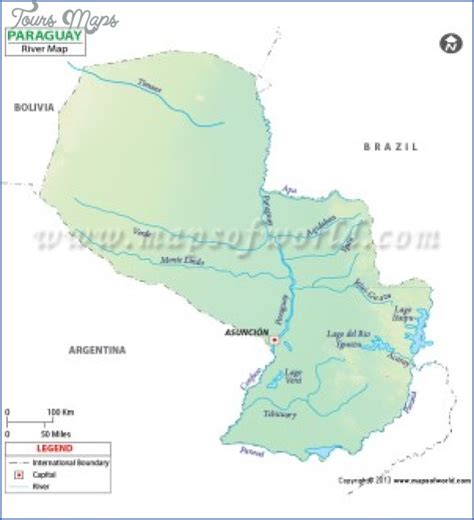 paraguay on the world map paraguay river on world map toursmaps