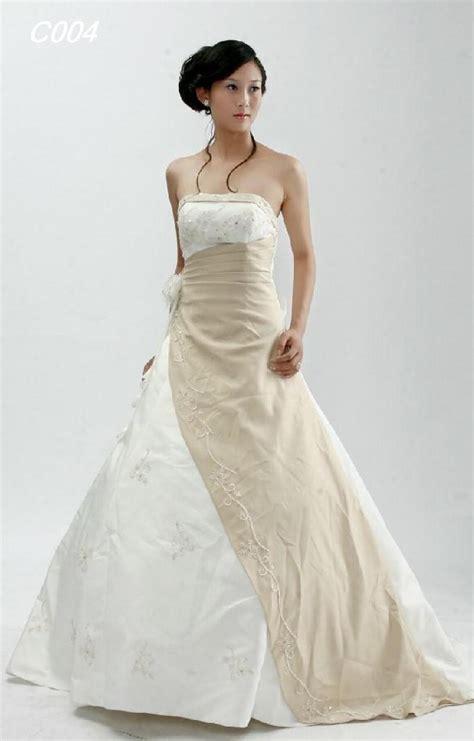 sleeveless and strapless a line wedding gown wedwebtalks