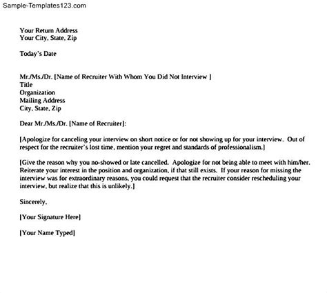Apology Letter To For Not Being There Apology Letter Template For Missing Sle Templates