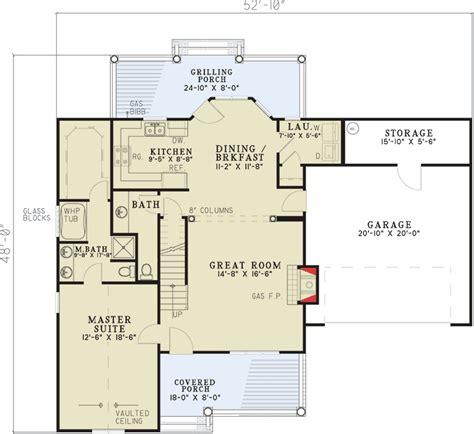 practical floor plans practical floor plan 59478nd 1st floor master suite