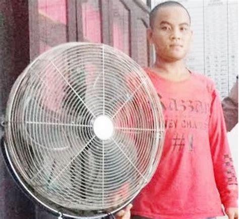 Kipas Angin Dinding Nasional Berdalih Ingin Pulang Kung Pria Ini Curi Kipas Angin Musala Okezone News