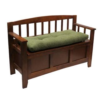 the gripper 36 inch bench cushion textured rembrandt green