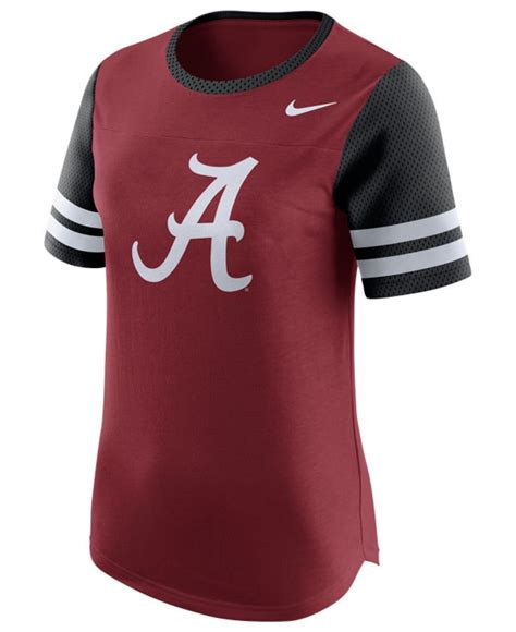 alabama crimson tide fan gear lyst nike s alabama crimson tide gear up modern