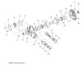 polaris ranger front differential diagram ranger free printable wiring diagrams