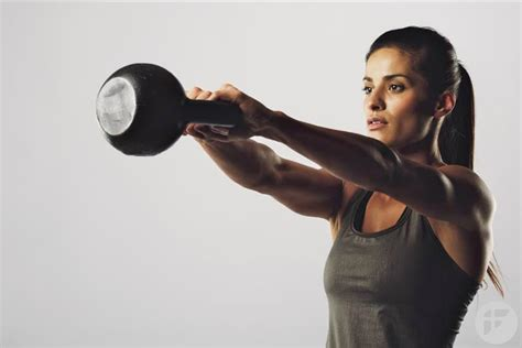 20 minute kettlebell workout to get a