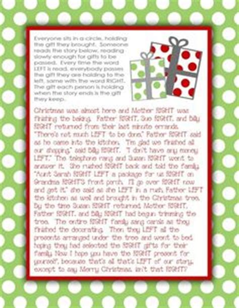 frosty the snowman gift exchange story printable right left frosty the snowman funsational sock exchange