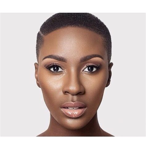 african american women with low or bald heads black female low cut hairstyles find your perfect hair style