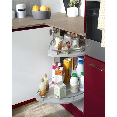 meuble angle cuisine leroy merlin 1 rangement coulissant 2 paniers tirant gauche pour meuble