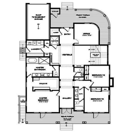 coastal living floor plans luxury daily