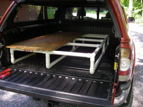 truck bed platform sleeping platform designs tacoma world forums cing