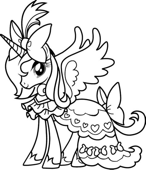 My Little Pony Coloring Pages Bestofcoloring Color Print My Pony Colouring Pages To Print