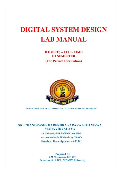 digital design lab questions scsvmv dsd lab manual kms