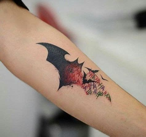 batman symbol tattoos 50 batman symbol designs for ink