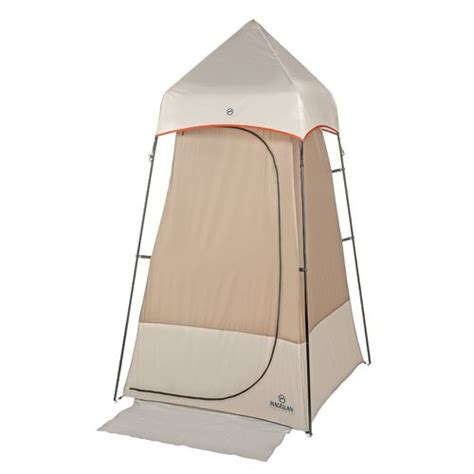 1 Person Portable Shade Room With Floor - magellan outdoors portable 1 person utility tent academy