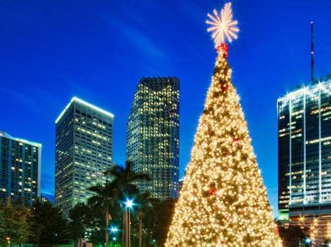 free bayfront park tree lighting miami on the cheap