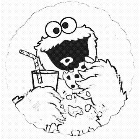 coloring book pages cookie monster 17 best images about cookie monster on pinterest