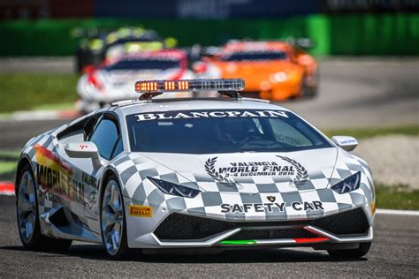 Lamborghini Safety Mr Creates Lamborghini Trofeo Safety Car Mr