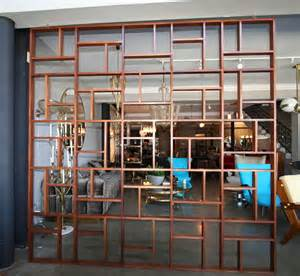 midcentury geometric room divider mid century modern folding screens amp room dividers dering hall