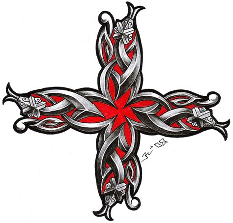 cross and snake tattoo celtic snake cross design tattooshunt