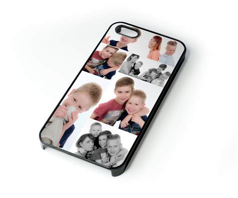 photo gifts custom made personalised photo collage montage iphone case