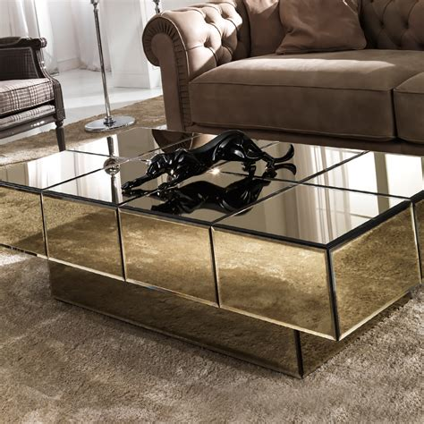 glass and bronze table italian designer bronze glass storage coffee table