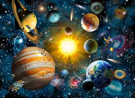 Trippy Wall Murals our solar system wall mural amp our solar system wallpaper