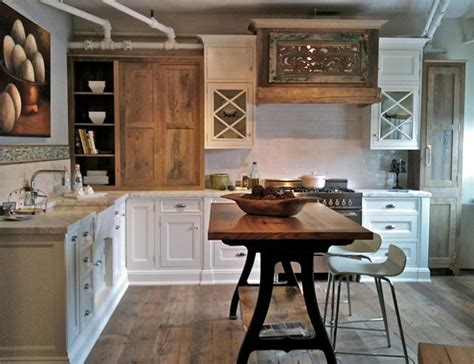 Kitchen Wood Furniture Using Reclaimed Wood For Your Kitchen Furniture Superior