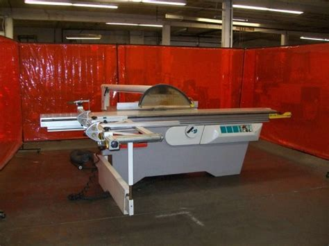 pre owned woodworking machinery sold casadei ks 32 plus sliding table saw