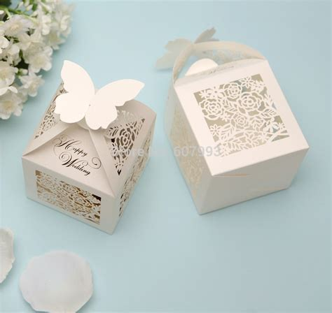 Does Aliexpress Have Gift Cards - aliexpress com buy ivory laser cut candy gift box for
