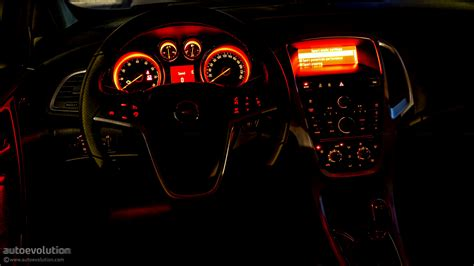inside lamborghini at night opel astra gtc review autoevolution