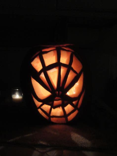 spiderman pumpkin things we have done pinterest