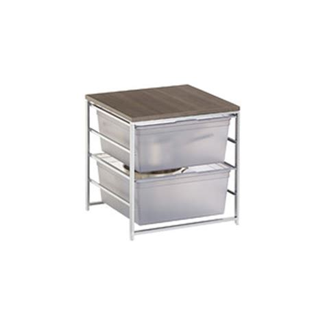 lynk chrome pull out cabinet drawers lynk chrome pull out cabinet drawers the container store