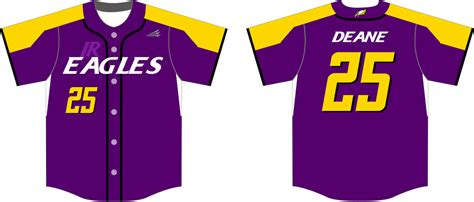 design your own eagles jersey jr eagles 2017 custom baseball jerseys triton mockup portal