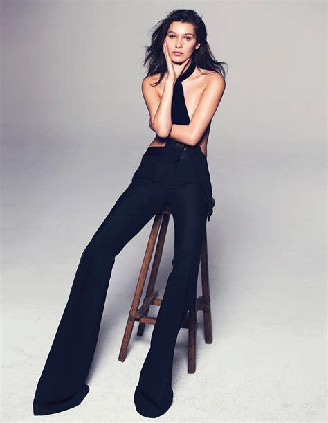 how tall is bella hadid img models bella hadid elle may 2015