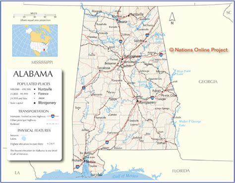 maps of alabama cities state maps interactive alabama