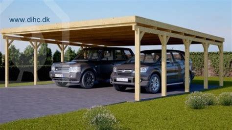 Pod Garage by Dobbelt Carport Modern 36 M2 Dihc Dk